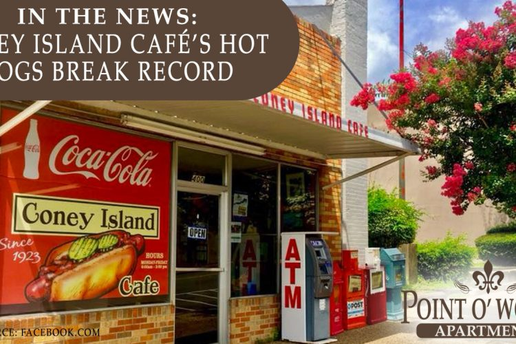 In the News: Coney Island Café's Hot Dogs Break Record