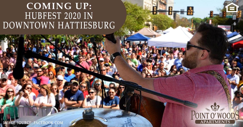 HUBFEST 2020 in Downtown Hattiesburg