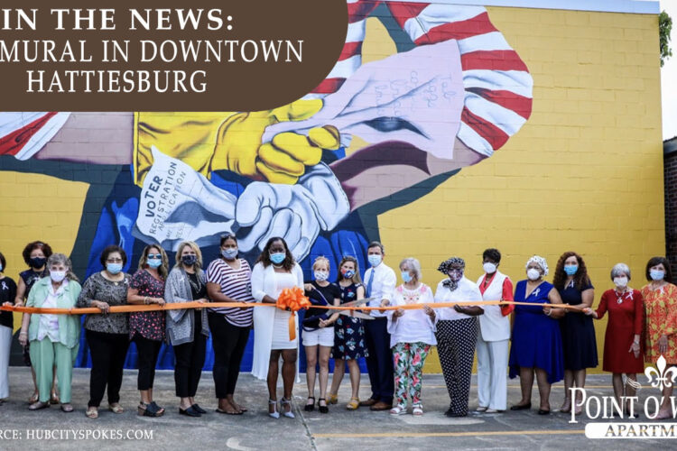 In the News: New Mural in Downtown Hattiesburg