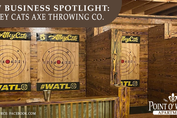 New Business Spotlight: Alley Cats Axe Throwing Co.