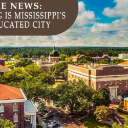 Hattiesburg is Mississippi's Most Educated City